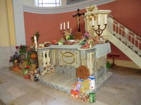 Altar zum Erntedankfest