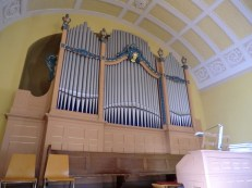 Orgel Nahaufnahme