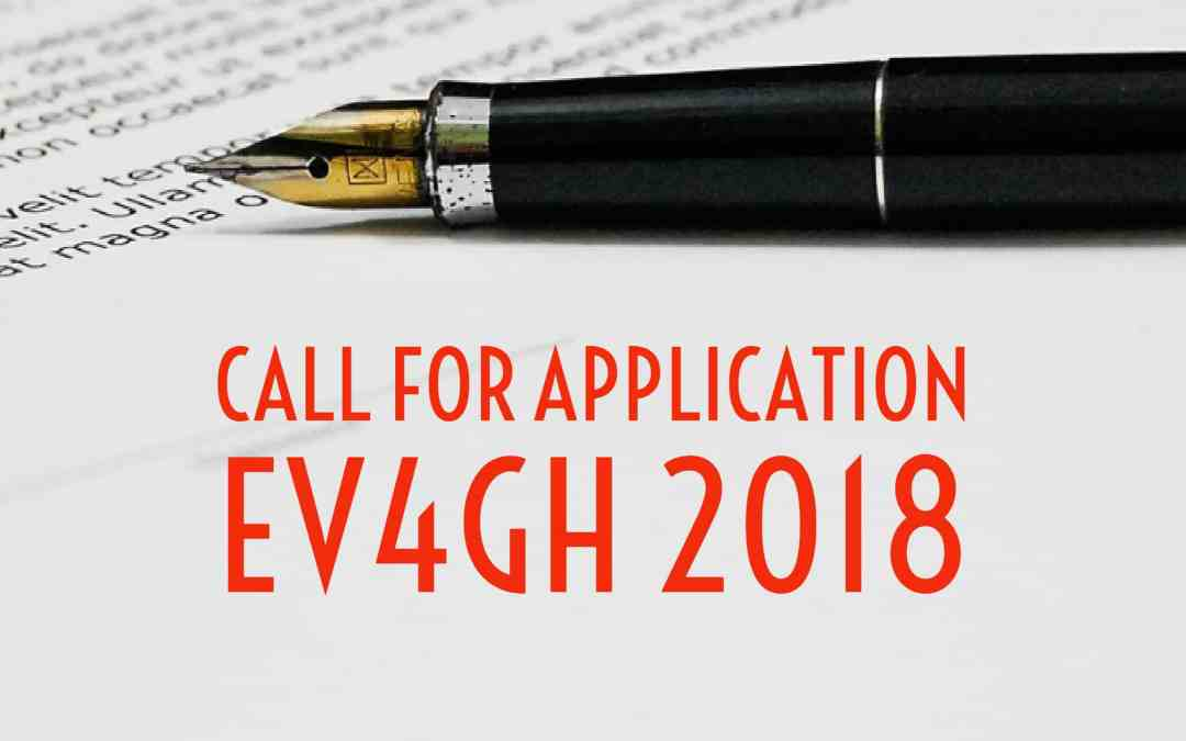 Call for Emerging Voices for Global Health 2018 (EV4GH 2018)