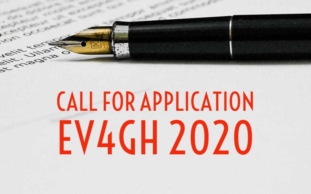 Call for applications for Emerging Voices for Global Health 2020