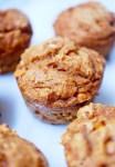 pumpkin butterscotch muffin