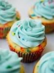 one bowl funfetti cupcakes