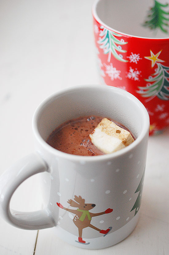 thick and rich hot chocolate