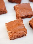 frosted lunch lady brownies