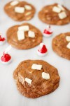 Chocolate peppermint chunk cookies