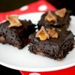 Caramel kiss brownies
