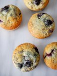 Copycat department store blueberry muffins