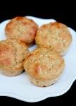 Acorn squash (or pumpkin) millet muffins
