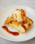 'Ohana bread pudding with spiced rum caramel sauce