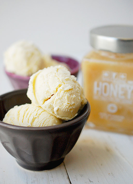 raw honey ice cream