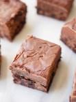 Nutella fudge brownies