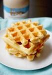 belgian yeasted waffles