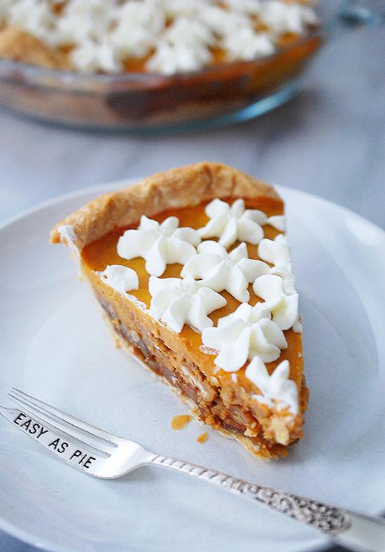 pumpkin pecan pie