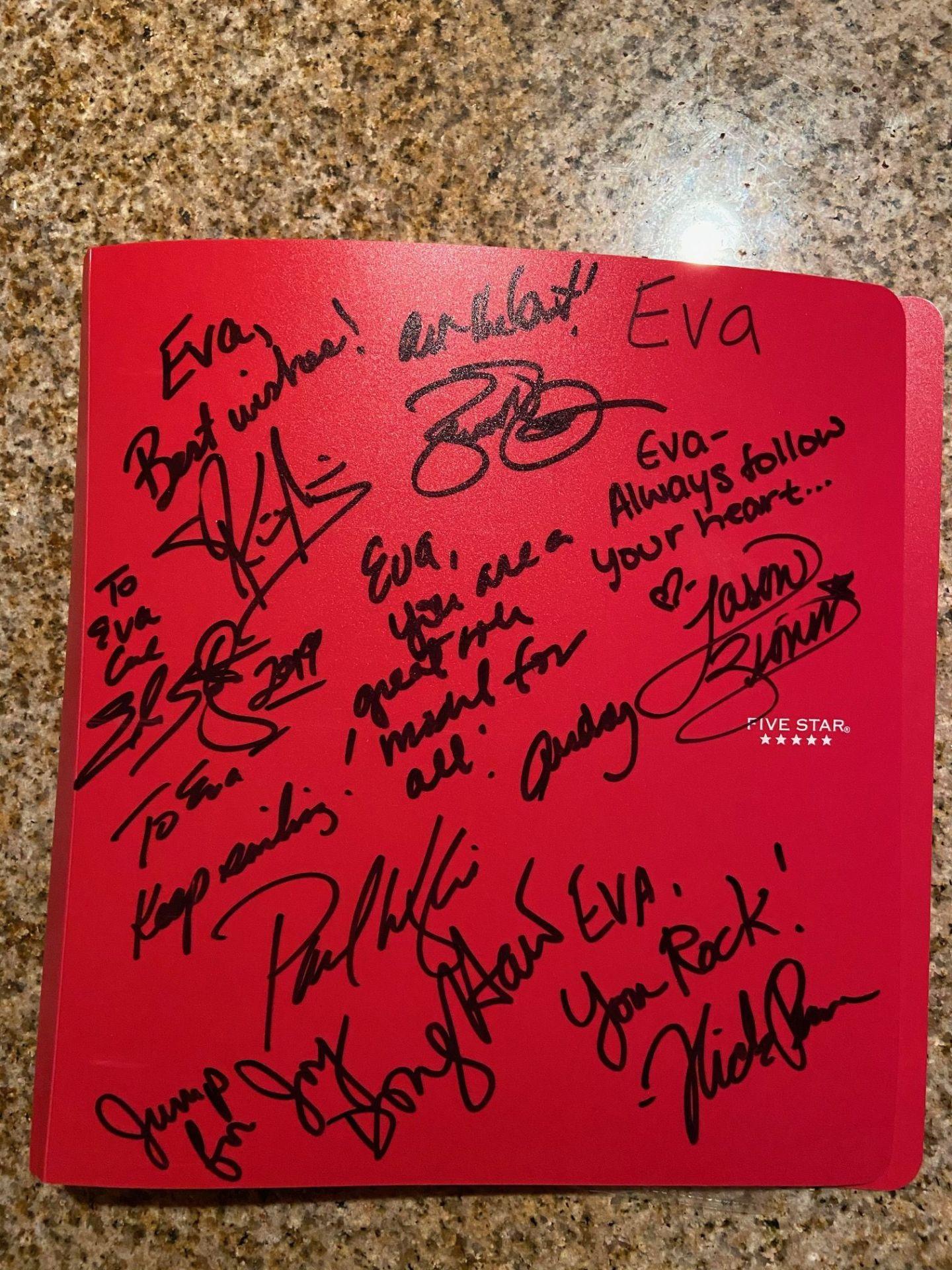 skating celebrity autographs