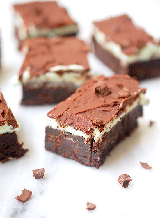 Mint chocolate brownies (Cool mint dessert version 2.0)