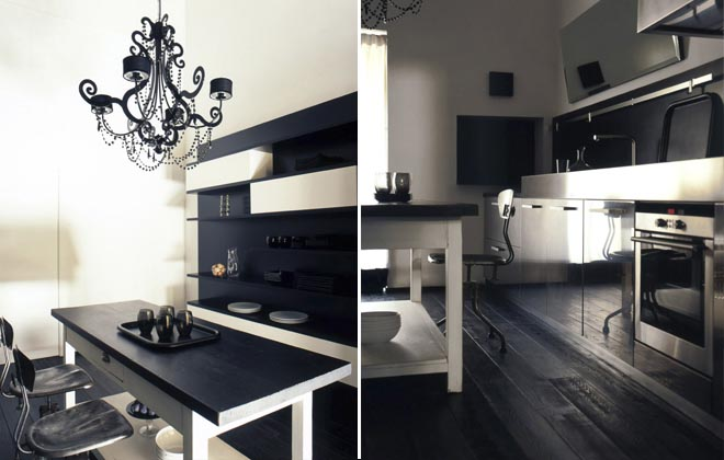 black and white inspiration pavimenti e rivestimenti in