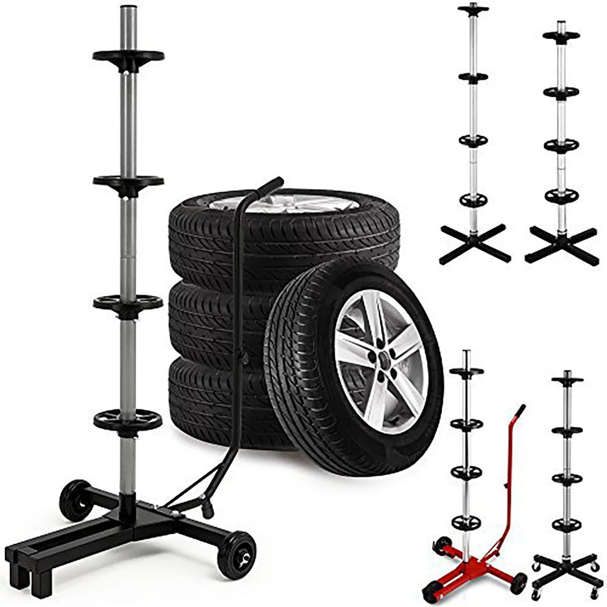 Wheel Storage Solutions - Tyre Trees