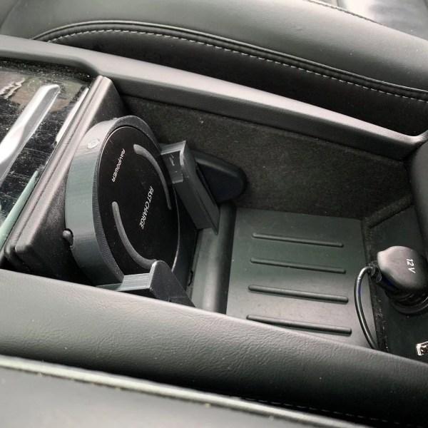 Qi Wireless Charger Holder Dock Tesla Model S/X QI Wireless Phone Charger QI Wireless Phone Charger Holder