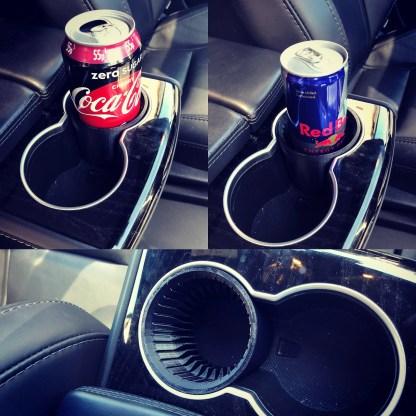 Tesla Model S/X Can Holder Adaptor for tesla cup holders. Designed for tesla armrest cup holders
