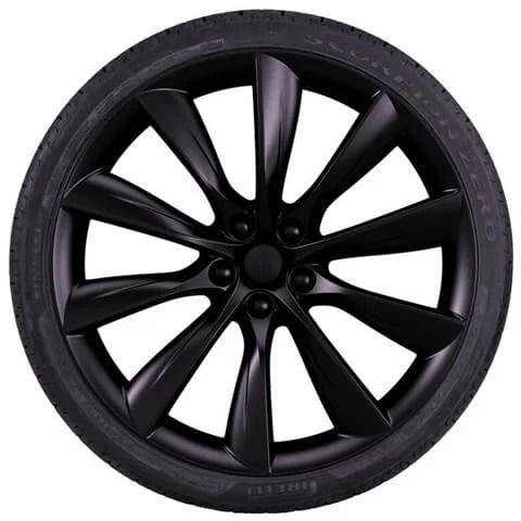 Tesla Model X Onyx Black Turbine Wheel
