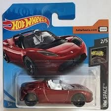 Hot Wheels Tesla Roadster Featuring Starman