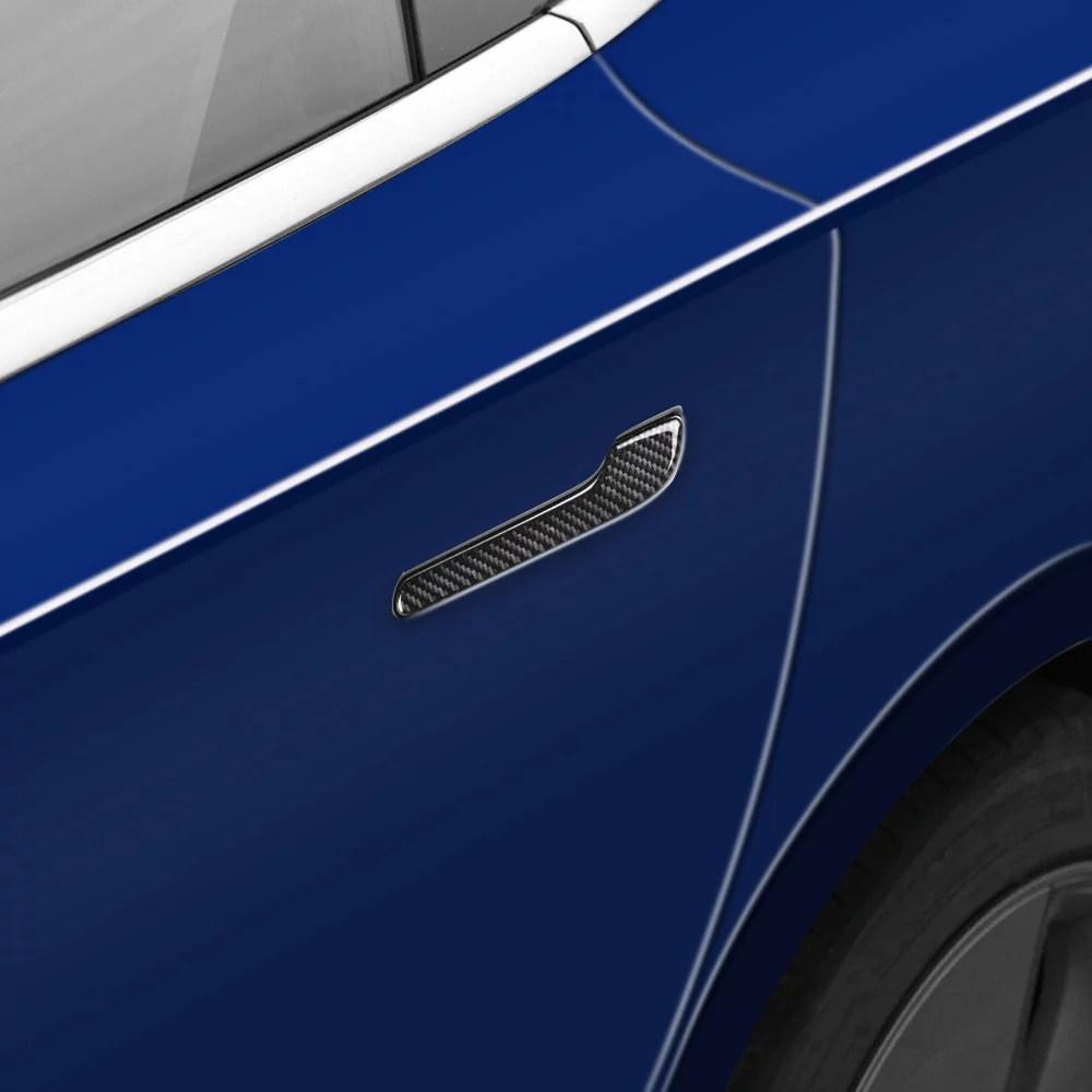 Model 3 Carbon Fibre Effect Door Handle Covers