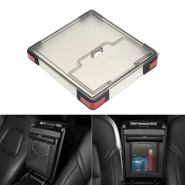 Model 3 Armrest Lid Storage Box