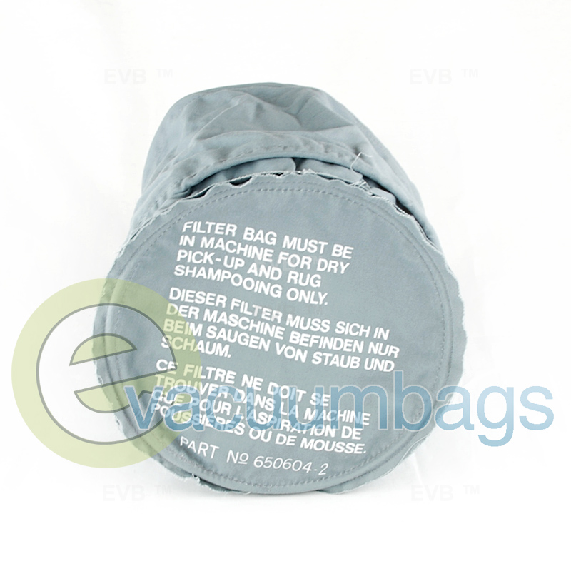 Clarke 600 Genuine Cloth Vacuum Bags 650604