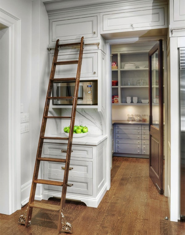kitchen ladder stainless steel tables going vertical in your interior design inspiration eva