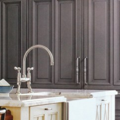 Cream Color Kitchen Cabinets Faucet With Handspray Pewter A Surprise - Interior Design ...