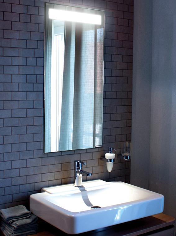Mirror with Hidden Light  Interior Design Inspiration