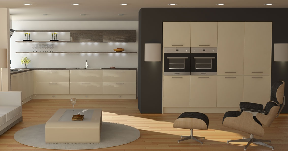 Contemporary Home Decor Kitchens
