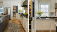 The No Corner Kitchen - Interior Design Inspiration | Eva ...