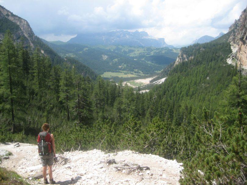 Hiking the Dolomites, Italy