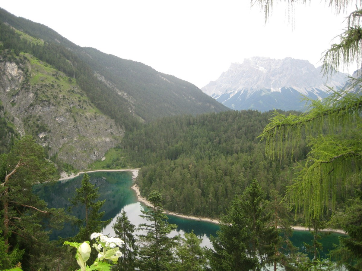 On_the_road_Zugspitze_Germany