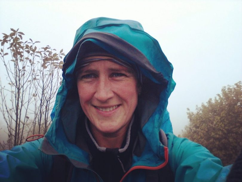 Happy hiker?! The witches on Mount Slivnica are cooking some bad weather especially for me...