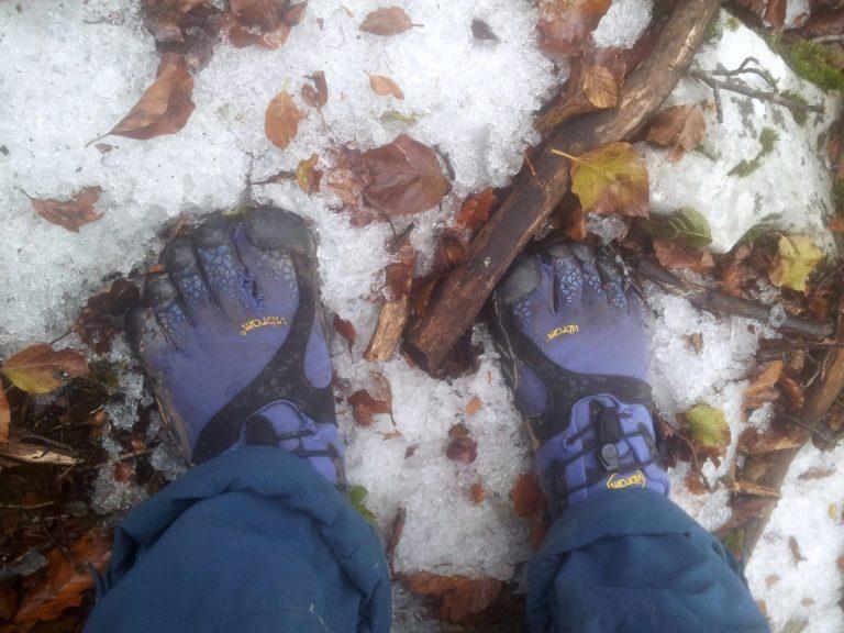 Hiking_Via_Dinarica_White_Trail_on_Vibram_Five_Fingers