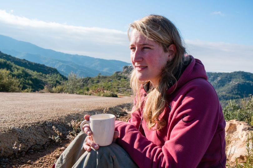 Over mij Eva Smeele - dromen met koffie