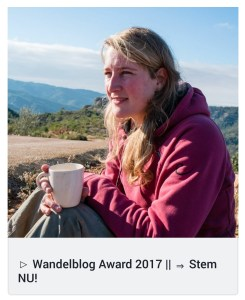 Eva Smeele in de media - Wandelblog Award 2017