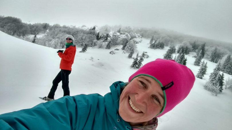 In de wolken | sneeuwschoenwandelen op Velebit