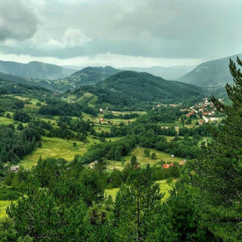 View on Mokra Gora