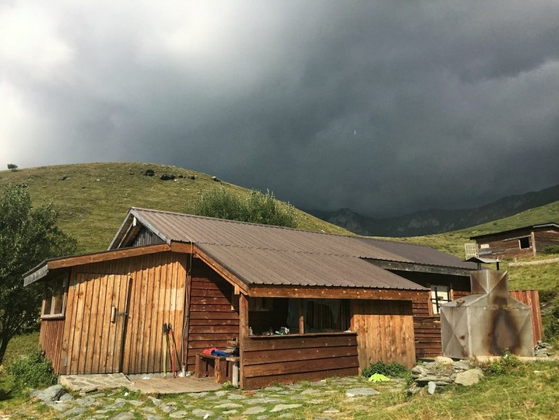 Mountain hut Zitadelle