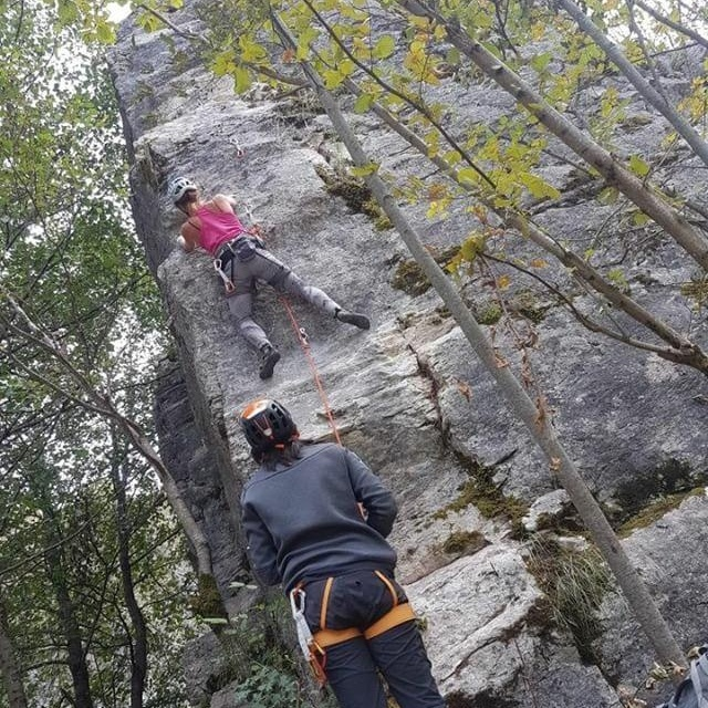 Climbing in Macedonia at Ribnica Plaža