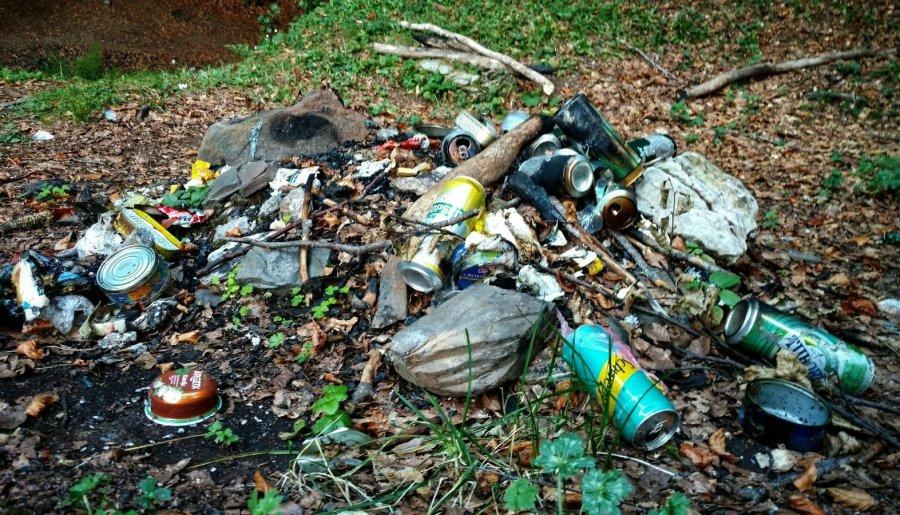Picknick trash
