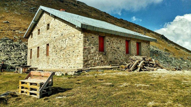 Mountain hut at Golemo Ezero