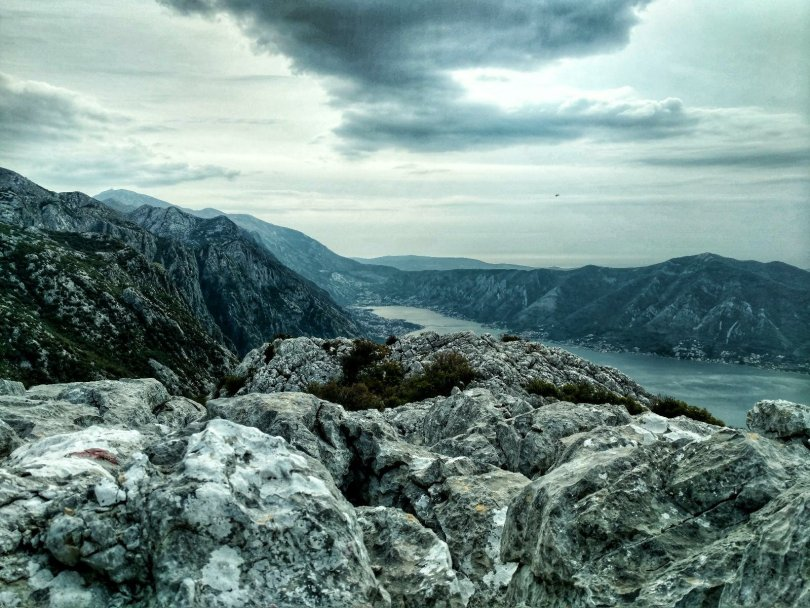 PPT day 7: Bay of Kotor to the left