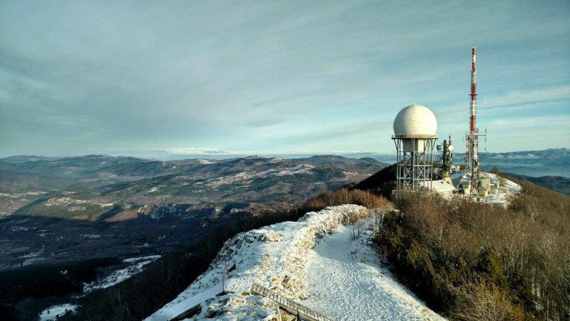 Hiking Vojak peak, Učka Nature Park