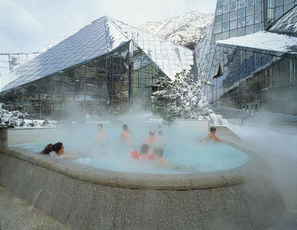 Evadium Pack SPA termal en Caldea con gastronoma y espectculo en Andorra