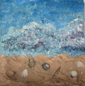 Sommer, 2012 Leinwand 20 x 20 cm