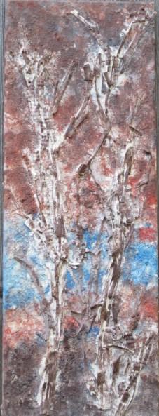 Birke, 2014, Leinwand, 30 x 60 cm